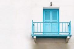 Camera con i balconi Immagine Stock