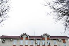 Camera con il tetto del metallo Fotografia Stock Libera da Diritti