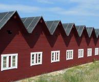 Camera con molte parti superiori del tetto Fotografia Stock Libera da Diritti