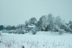 Camera con neve Immagine Stock Libera da Diritti