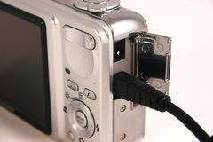 Camera connection Stock Image