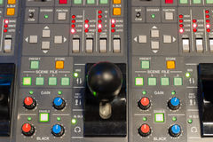 Camera control panel Royalty Free Stock Photography