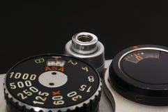 Camera controls, macro Stock Photo