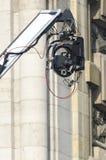 Camera on a crane Royalty Free Stock Photo