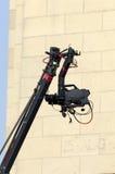 Camera on a crane Royalty Free Stock Image