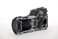 Camera cutaway Stock Photo