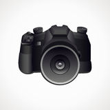 Camera 3D. Vector format. Photography Stock Image