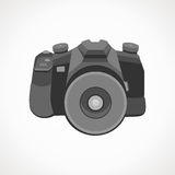 Camera 2D. Vector format. Photography Stock Images