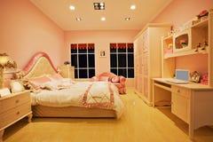 Camera da letto 02 dei bambini Fotografie Stock
