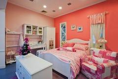 Camera da letto 03 dei bambini Fotografia Stock