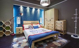 Camera da letto 04 dei bambini Immagini Stock