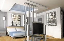 camera da letto Immagini Stock