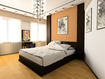 camera da letto Immagine Stock