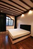 Camera da letto fotografia stock