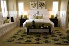 Camera da letto 1704 Immagini Stock
