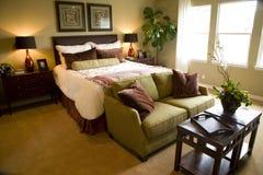 Camera da letto 2375 Immagini Stock