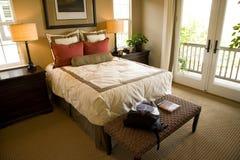 Camera da letto 2511 Fotografie Stock