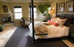 Camera da letto 2701 fotografia stock libera da diritti