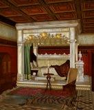Camera da letto 5 di fantasia Immagine Stock