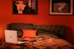 Camera da letto Immagine Stock Libera da Diritti