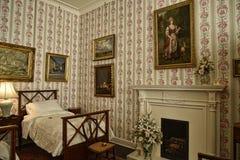 Camera da letto ad una bella casa di campagna vicino a Leeds West Yorkshire che non è una proprietà di fiducia nazionale Fotografie Stock