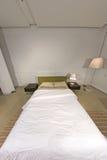 Camera da letto alla moda moderna - disegno interno Fotografia Stock Libera da Diritti