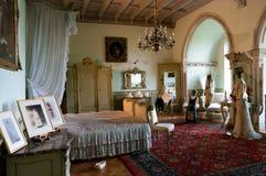 Camera da letto antica Immagine Stock