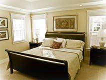 Camera da letto bella Fotografia Stock Libera da Diritti