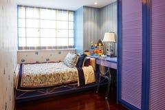 Camera da letto dei bambini Fotografie Stock Libere da Diritti