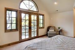 camera da letto del balcone Fotografia Stock