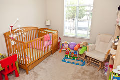 Camera da letto del bambino Fotografia Stock Libera da Diritti