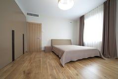 Camera da letto del progettista Fotografia Stock Libera da Diritti