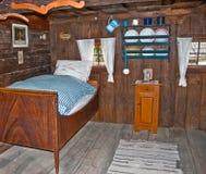 Camera da letto dell'annata Fotografie Stock Libere da Diritti