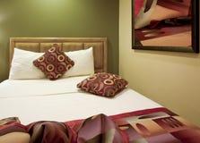 Camera da letto dell'hotel di ricorso di vacanza Immagine Stock