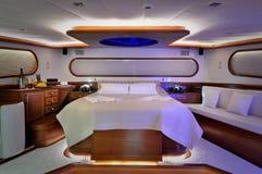 Camera da letto della barca a vela Fotografie Stock Libere da Diritti