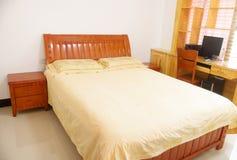 Camera da letto della famiglia Immagine Stock