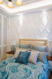 Camera da letto di lusso Immagini Stock