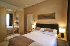 Camera da letto di lusso Fotografia Stock Libera da Diritti