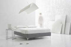 Camera da letto di Minimalistic Fotografie Stock
