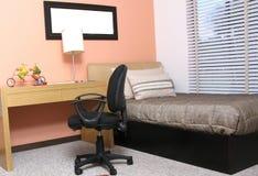 Camera da letto di Moderm Fotografia Stock Libera da Diritti