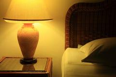 Camera da letto di notte Immagine Stock Libera da Diritti