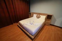 Camera da letto di rilassamento Immagini Stock Libere da Diritti