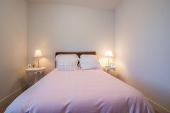 Camera da letto di rosa del ` s della ragazza Fotografia Stock