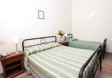 Camera da letto elegante Fotografia Stock