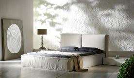 Camera da letto industriale Fotografia Stock Libera da Diritti