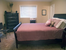 Camera da letto matrice 15 fotografia stock