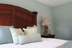Camera da letto matrice moderna Fotografie Stock