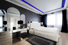 camera da letto moderna Immagine Stock Libera da Diritti