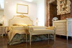 Camera da letto moderna immagini stock libere da diritti