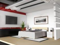 Camera da letto oggi Fotografie Stock